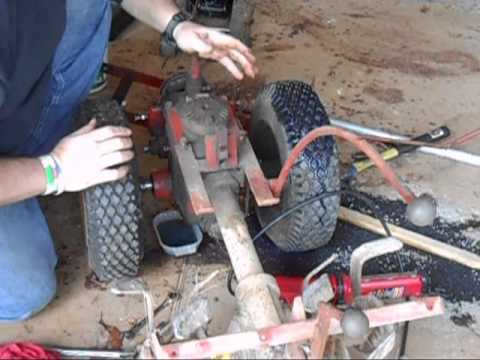 Troybilt Transmission Teardown Part 1