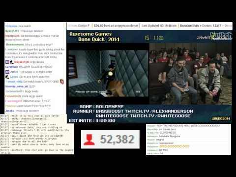 AGDQ 2014   Goldeneye 007 Run 24 01 (2 controller WR)