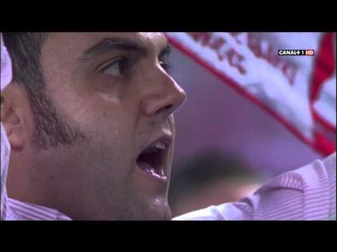 Sevilla FC Anthem VS Barca  2012.9.29