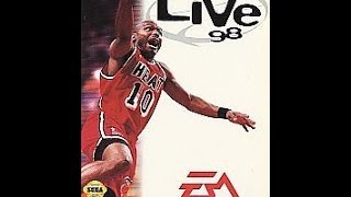 NBA Live 98 (Sega Genesis)