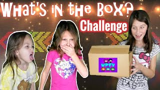 WHAT'S IN THE BOX!? Family Game Night Challenge - Wacky Pack Throwback!