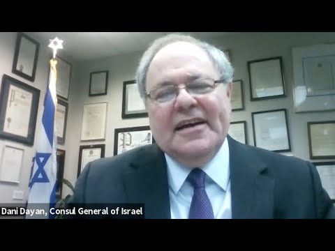 Diplomacy And Dialogue - Conversation With Consul General Of Israel In New York