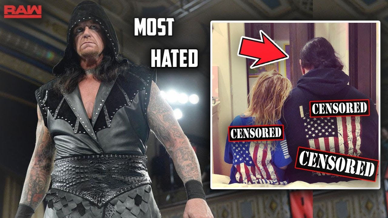 THE UNDERTAKER BECOMES MOST HATED SUPERSTAR DUE TO THIS PICTURE (WWE RAW)