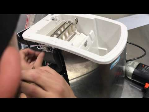 MIM-18 Ice Maker - How to replace the Ice Forming Tray