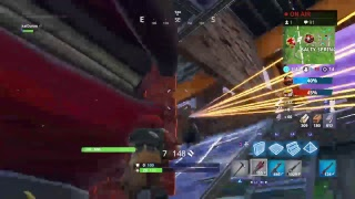 Fortnite with friend from school