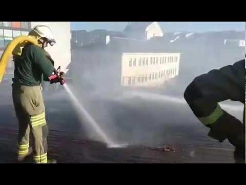 Controlado el incendio en la Casa da Música de Chantada