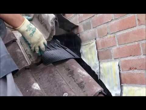 Bekend lood renovatie met aansluittray - YouTube ZM49