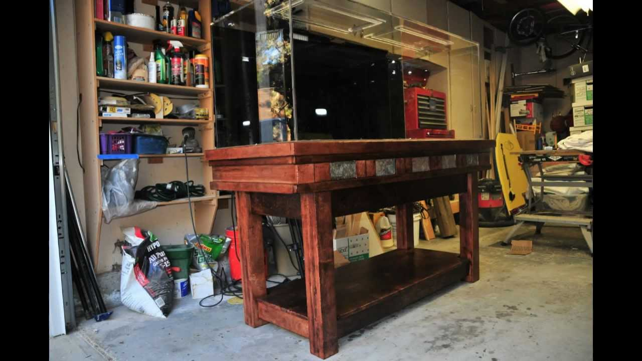 150 Gallon Aquarium Stand Build Youtube
