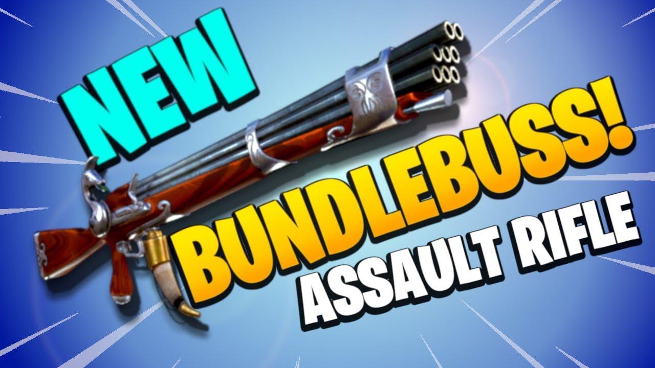Fortnite Blunderbuss Pistol Bundlebuss Assault Rifle Fortnite Save The World Pve New Road Trip Flintlock Event Weapon Review Youtube