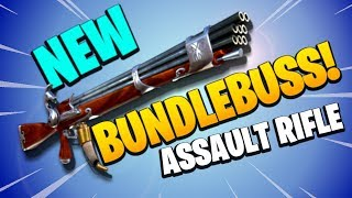 BUNDLEBUSS ASSAULT RIFLE | Fortnite Save the World PvE | New Road Trip Flintlock Event Weapon Review