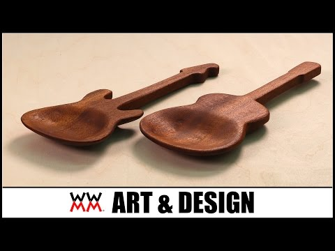 Making Wooden Spoons Using Every Power Sander In The Known Universe. | ART & DESIGN