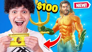 Kid Spends $100 On Season 3 *MAX* Battle Pass With Brother's Credit Card! (Fortnite)