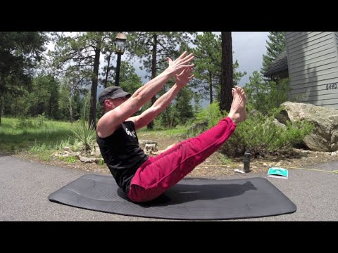 10 minute yoga abs workout w/ sean vigue  hasfit pilates