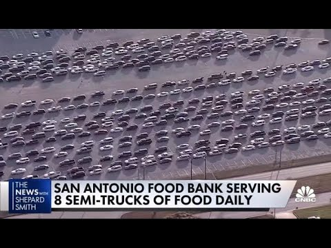 Texas Food Bank Lines Go From 60K to 120K In One Week