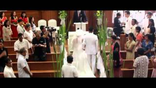 IGLESIA NI CRISTO WEDDING VIDEO BY JUNE MARCIAL