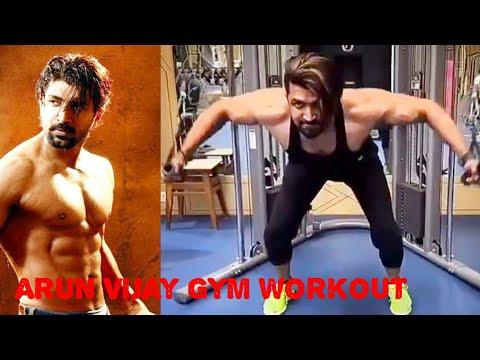 Arun Vijay Gym Workout / Body Builder