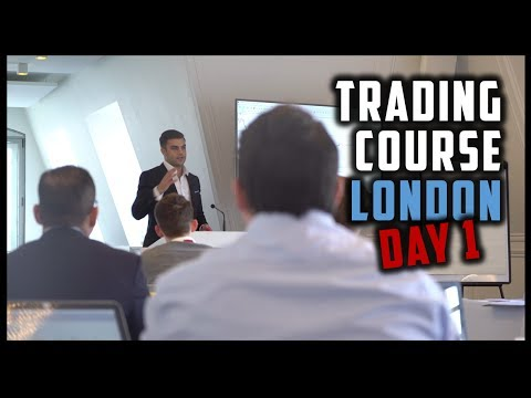 [DAY 1] THE DUOMO METHOD TRADING COURSE, LONDON (Vlog)