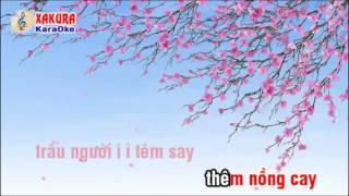 Karaoke QUAN HO Khúc hát mừng xuân   Điệu  Tương phùng tương ngộ