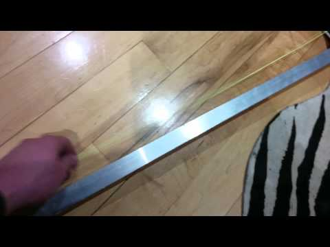 How to replace pocket door track w/o opening wall