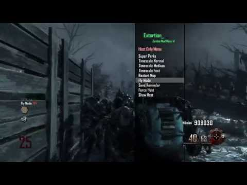 PS3/BO2] Black Ops 2 1 19 Extortion Zombie Mod Menu (DEX