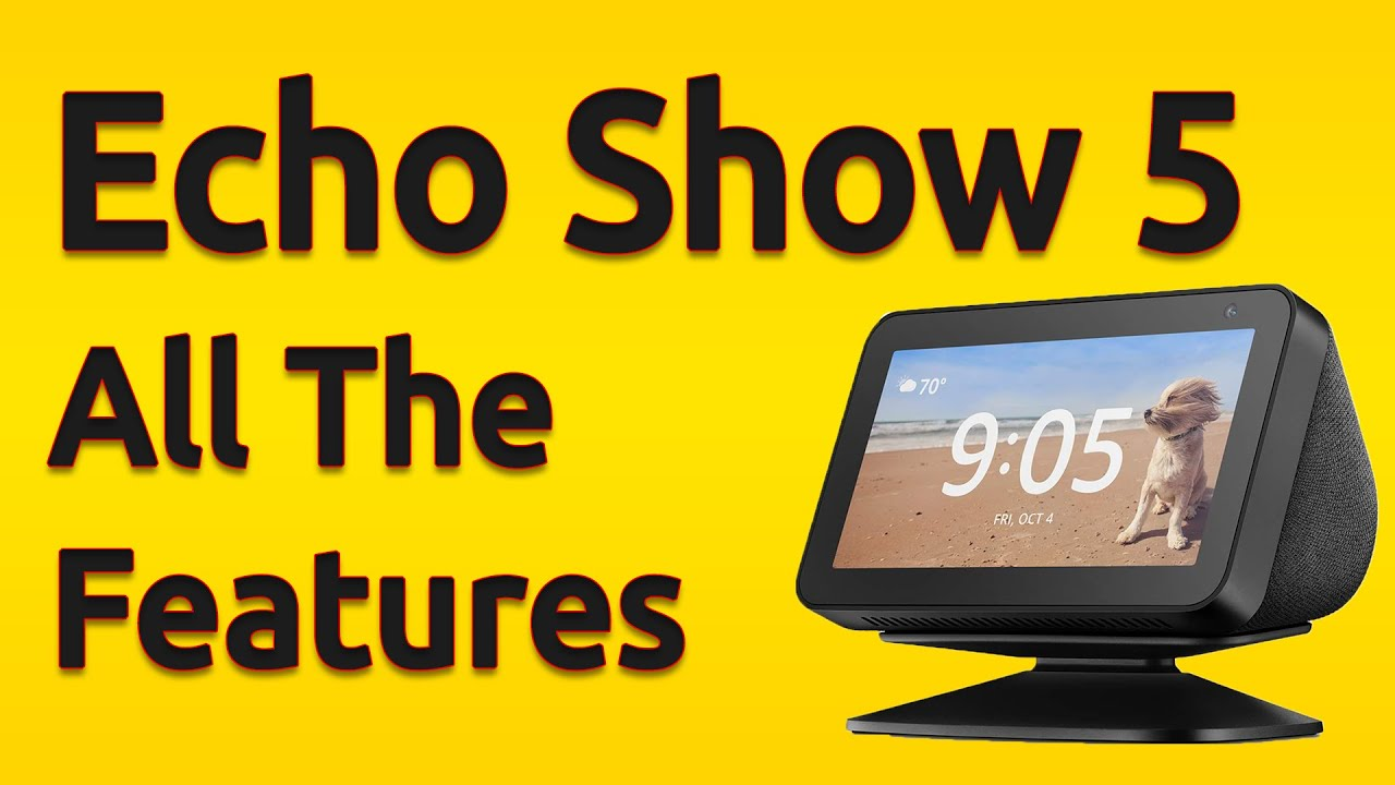 Sandstone Amazon Devices & Accessories Stands Echo Show 5 Adjustable Stand