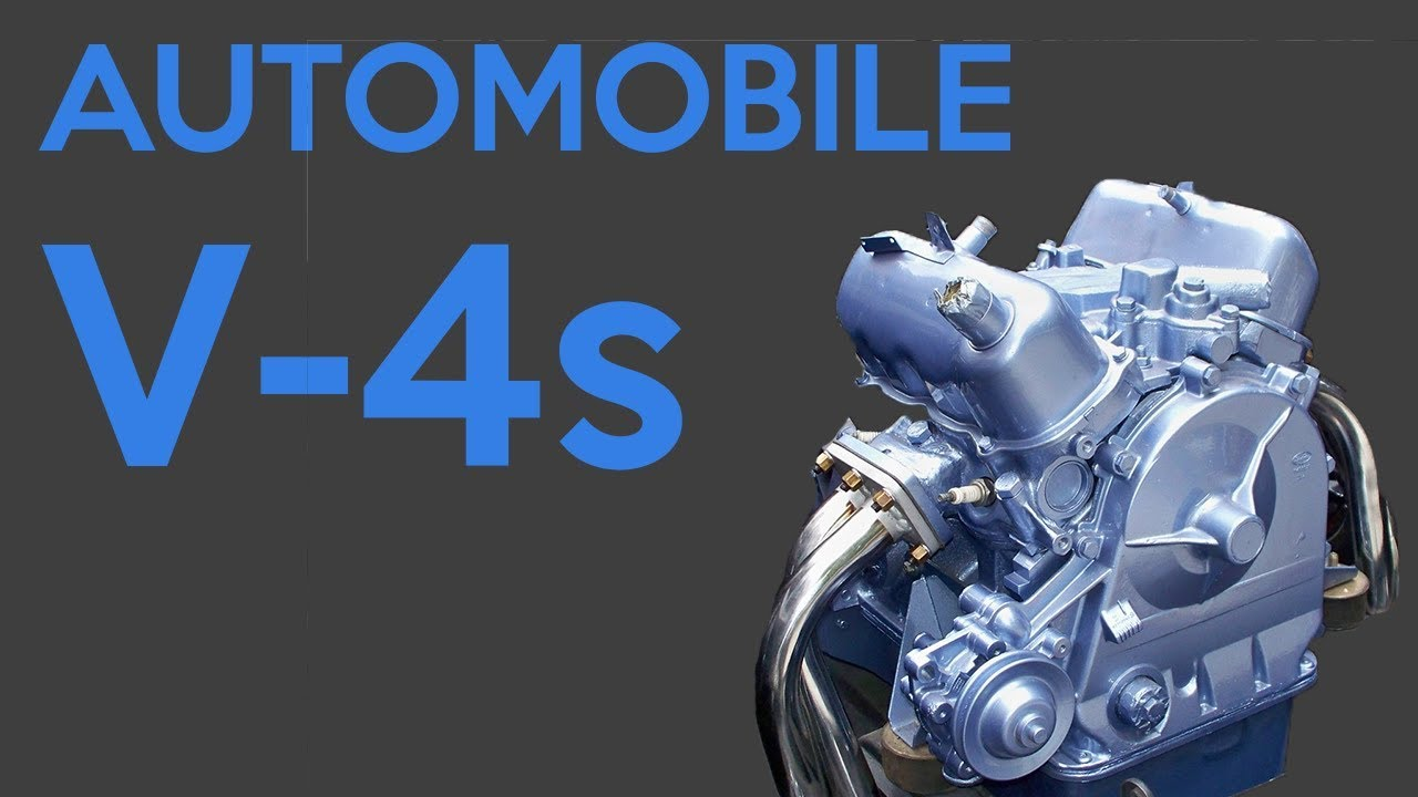 The Only 6 Automobile V 4 Engines To Exist