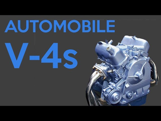 The Only 6 Automobile V-4 Engines To Exist