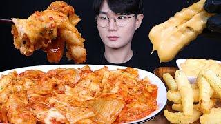 김치 치즈 피자 탕수육 김피탕 먹방ASMR MUKBAN…
