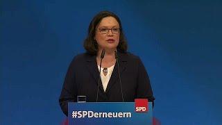 تعرف على أندريا ناليس.. أول امرأة تتولى قيادة أقدم الأحزاب الألمانية…