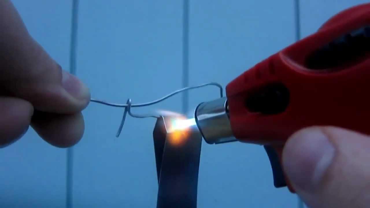 Heat Anodizing Titanium Money Clip - YouTube
