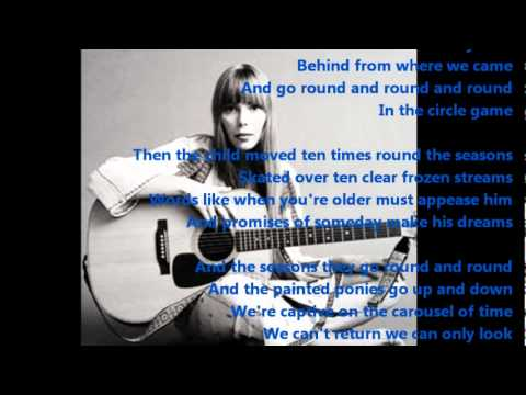 Joni mitchell the circle game youtube