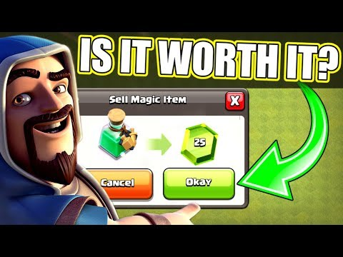 SHOULD YOU SELL THIS ITEM FOR FREE GEMS!? - Clash Of Clans - TIME TO CLAIM REWARDS!!