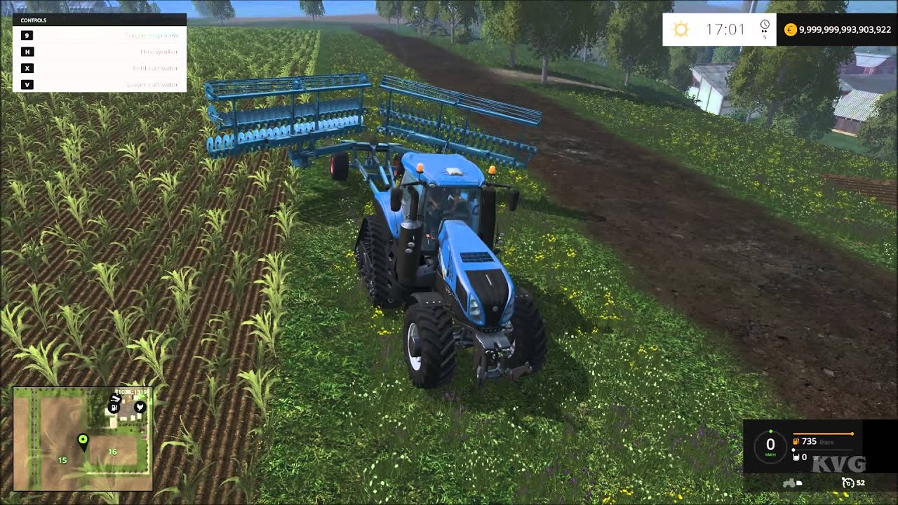 Farming Simulator 15 New Holland T8 435 Smarttrax