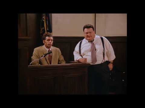 "Funny Seinfeld ""Yo Yo Ma"" moment, Newman Goes to Court for speeding ticket. Funniest"