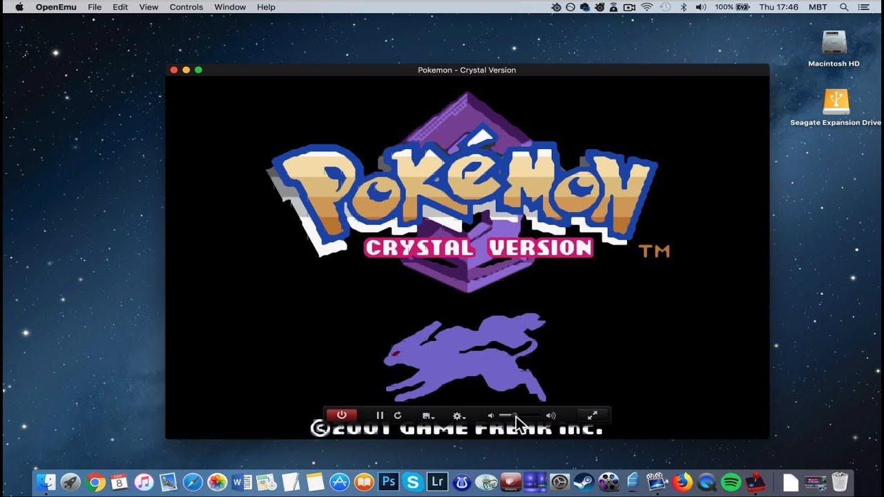pokemon kristall emulator