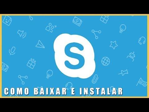 Como Baixar e Instalar o Skype Completo Para PC