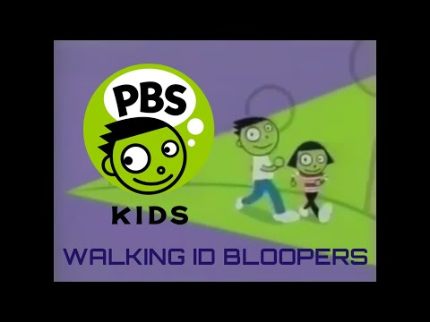 PBS KIDS WALKING ID BLOOPERS (MY VERSION)