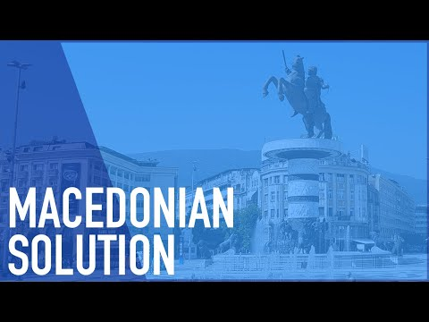 What Was The Macedonia Name Issue? And How Was It Solved?