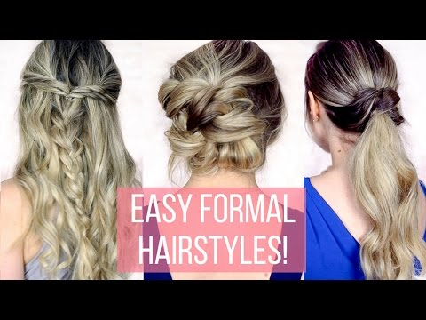 Prom / Formal Hairstyles for Long Hair – Hair Tutorial