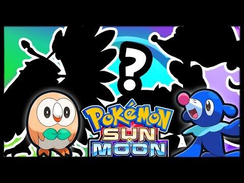 My Pokémon Sun and Moon Team! (Trickywi)