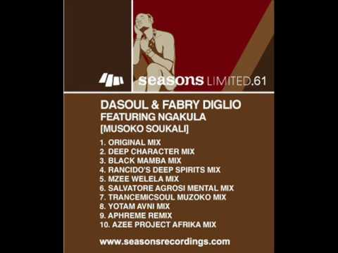 DaSouL & Fabry Diglio Feat Ngakula - Mozoko Sukali (Rancido's Deep Spirits Dub).wmv