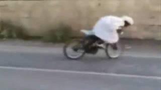 АРАБ ВЕЛОСИПЕДИСТ