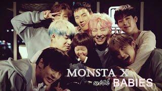 MONSTA X WITH BABIES