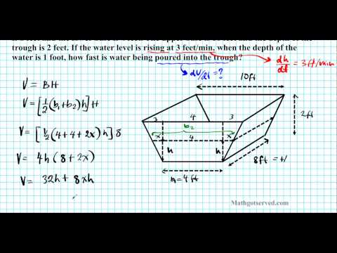 What is the formula for finding the volume of a trapezoidal prism?