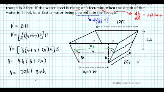 Volume And Surface Area Trapezoidal Prism