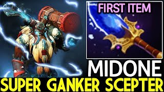 MIDONE [Earthshaker] Super Ganker Scepter Mid Beautiful Plays 7.22 Dota 2