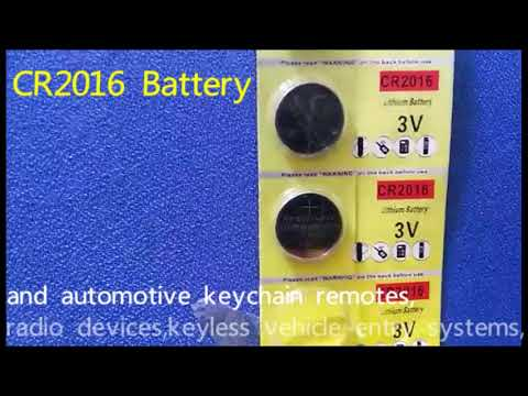 Fortune CR2016 3 Volt Lithium Coin Battery
