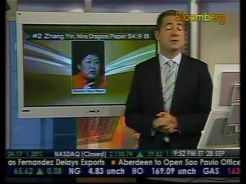 Huang Guangyu Tops China's Rich List