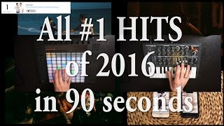 Video ALL #1 HITS of 2016 in under 90 seconds! download MP3, 3GP, MP4, WEBM, AVI, FLV Desember 2017
