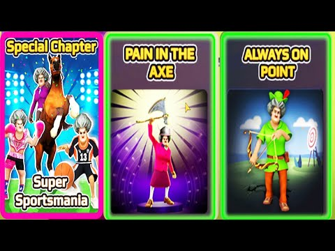 Scary Teacher 3D -  New Update Version 5.10 -  Super Sportsmania New Special Chapter